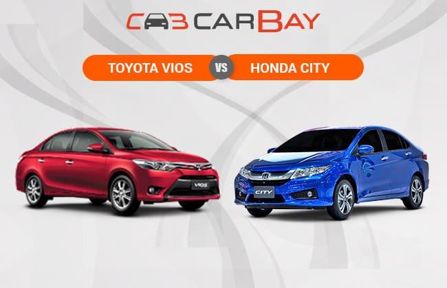 Toyota Vios Vs Honda City - Two Sedans, One Battle Field