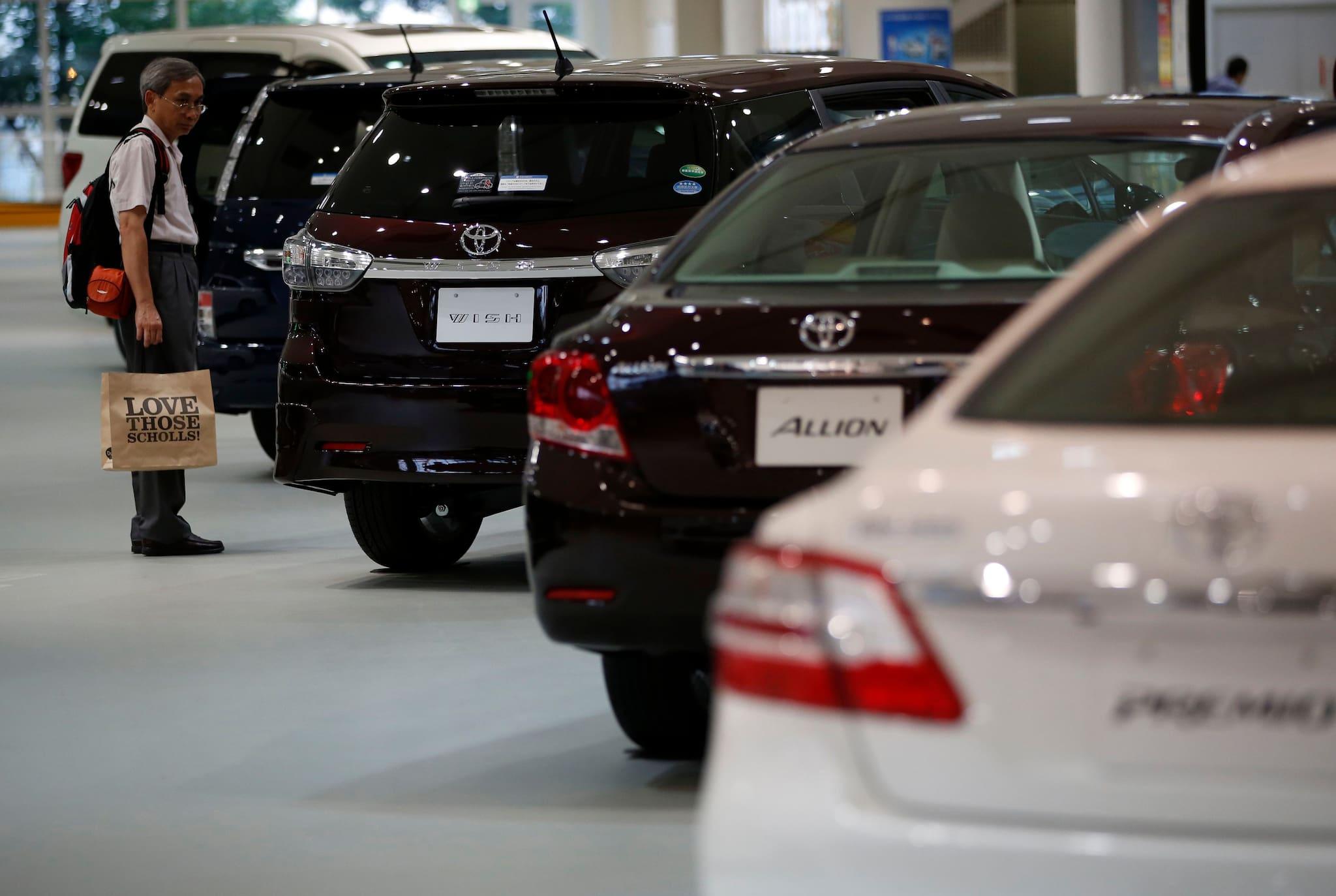 Toyota line up