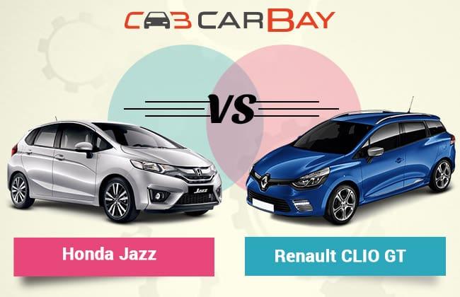 Renault Clio GT vs Honda Jazz: Battle of the Hot Hatchbacks
