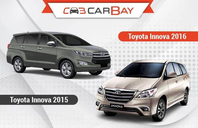 Toyota Kijang Innova 2016 Vs Toyota Innova 2015 Perbandingan Singkat