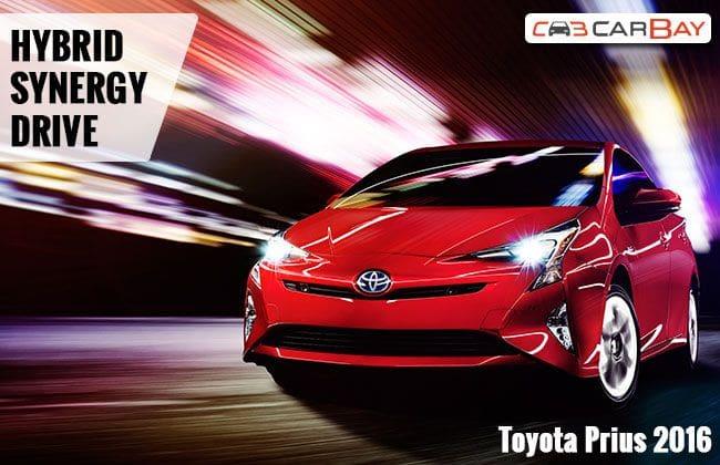 Toyota Prius 2016 giới thiệu công nghệ mới Hybrid Synergy Drive