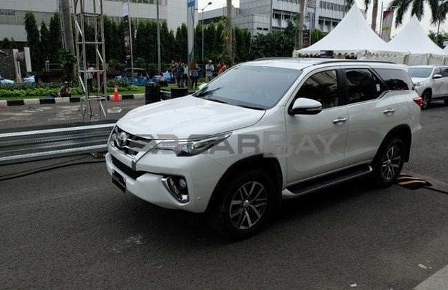 First Drive: Toyota Fortuner VRZ 2.4 A/T 4x2