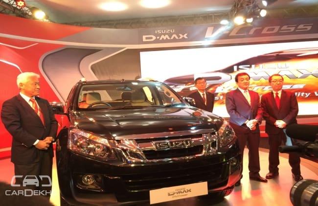 Isuzu D-Max V-Cross เปิดตัวบนเวที Delhi Auto Expo 2016