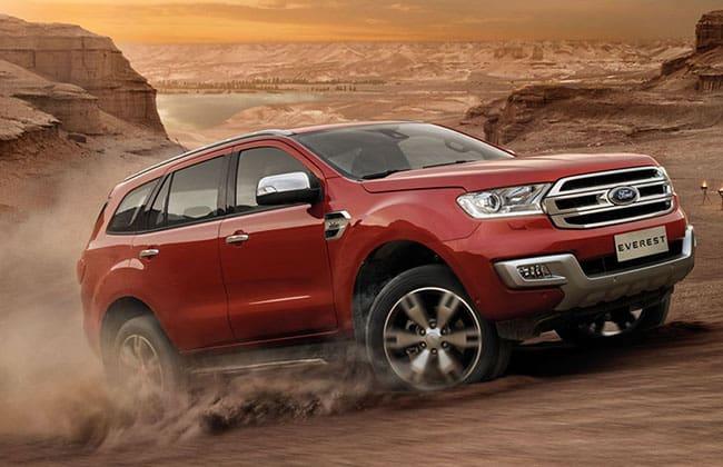Ford Everest ขึ้นแท่นรับโล่ Thailand Car of the Year 2015