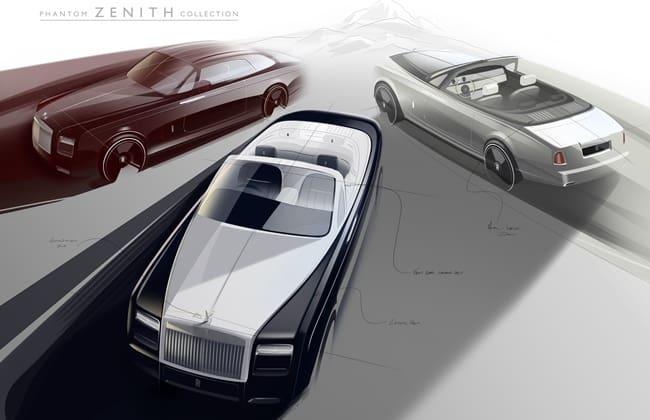 50 Unit Zenith, Kado Perpisahan Rolls-Royce Phantom