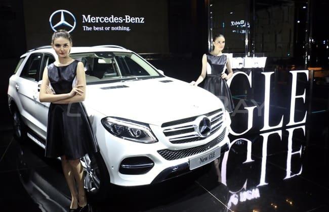 Mercedes-Benz GLE 2016 Resmi Meluncur