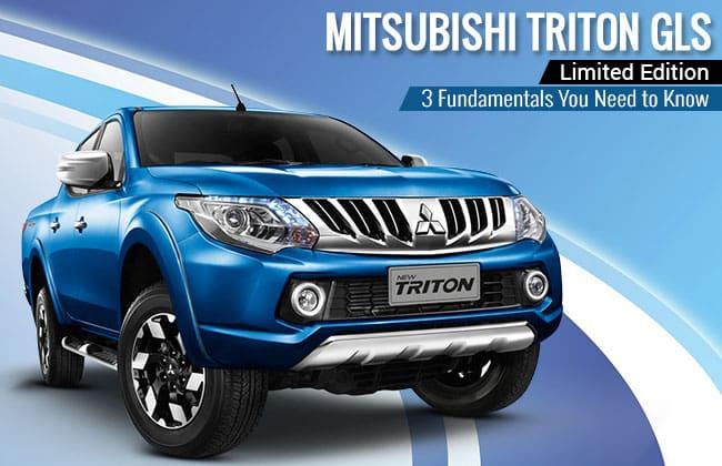 Mitsubishi Triton GLS Limited Edition - 3 สิ่งที่คุณต้องรู้เกี่ยวกับกระบะรุ่นพิเศษคันนี้