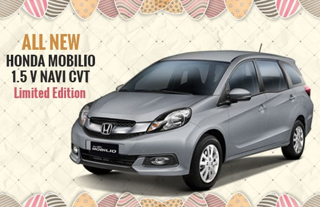 Honda Philippines Celebrates Holy Week with Honda Mobilio 1.5 Navi CVT Limited Edition
