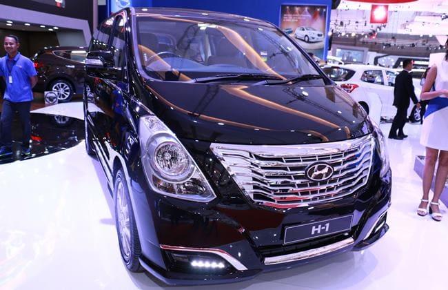 Hyundai H-1 2016 Meluncur Lebih Segar Di IIMS 2016