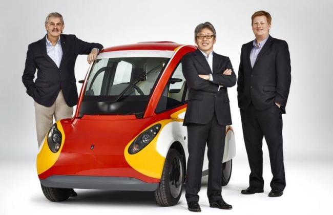 Shell Luncurkan Mobil Konsep 3 Penumpang
