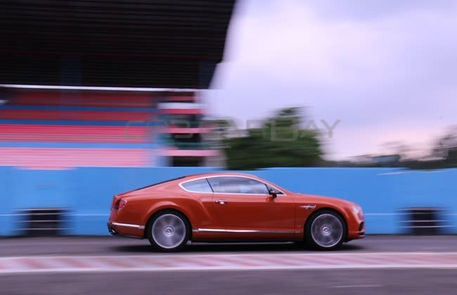 First Drive: Bentley Continental GT V8 S