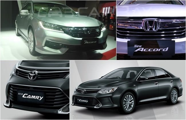 Honda New Accord VS Toyota New Camry : Perebutan Gelar Pemimpin Full-Sized Sedan