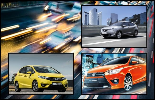 All-new Suzuki Baleno vs Honda Jazz dan Toyota Yaris