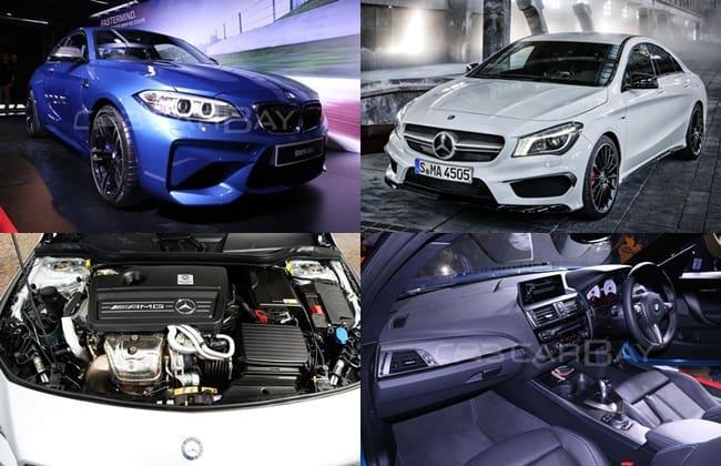 Komparasi BMW M2 VS Mercedes-Benz CLA 45 AMG