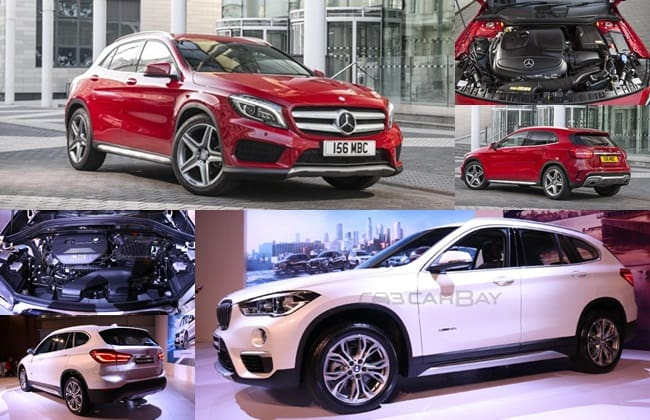 Komparasi BMW All New X1 VS Mercedes -Benz GLA