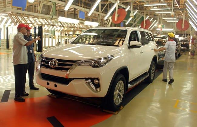 Fortuner Jadi Andalan Toyota Indonesia untuk Penetrasi Pasar Global