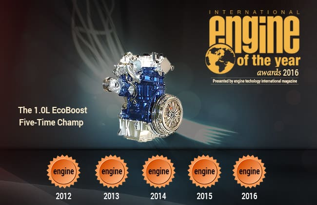 And the Oscar Goes to - Ford 1.0L EcoBoost