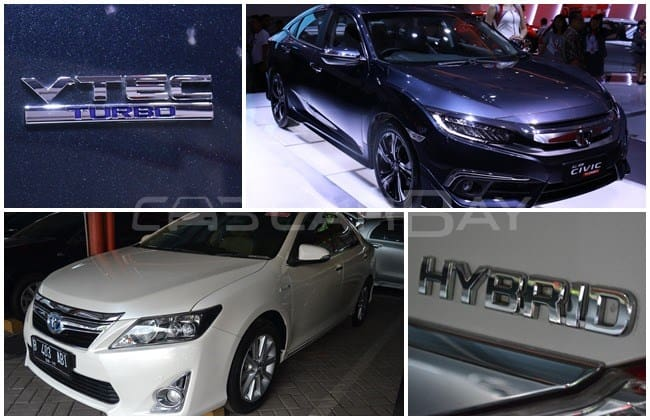 Honda All-new Civic Turbo VS Toyota Camry Hybrid Bekas: Anggaran Rp 475 Jutaan Pilih Mana?