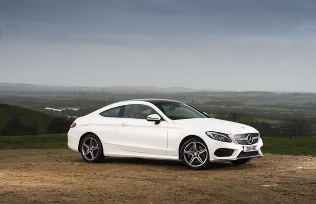 Mercedes-Benz C-Class Coupe Siap Meluncur
