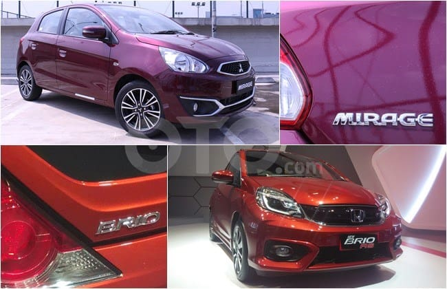 Mitsubishi New Mirage VS Honda New Brio RS: Perebutan Posisi Pertama City Car