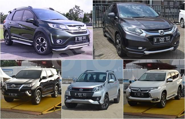 5 Mobil Suv Terlaris Selama Semester Pertama 2016