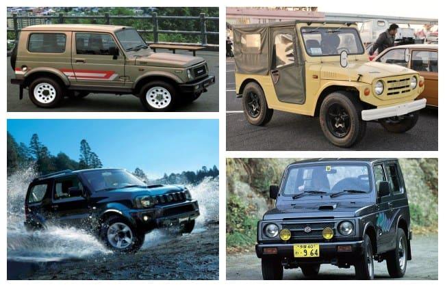 Sejarah Jip Sejati Suzuki