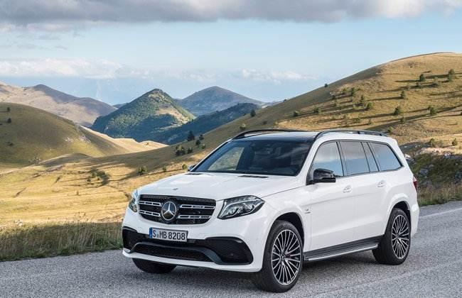 Mercedes-Benz Bawa GLS-Class Di GIIAS 2016