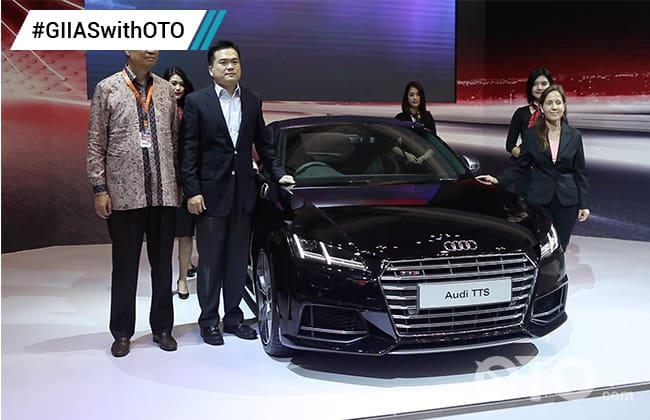 Audi TTS Tampil Perdana di GIIAS 2016