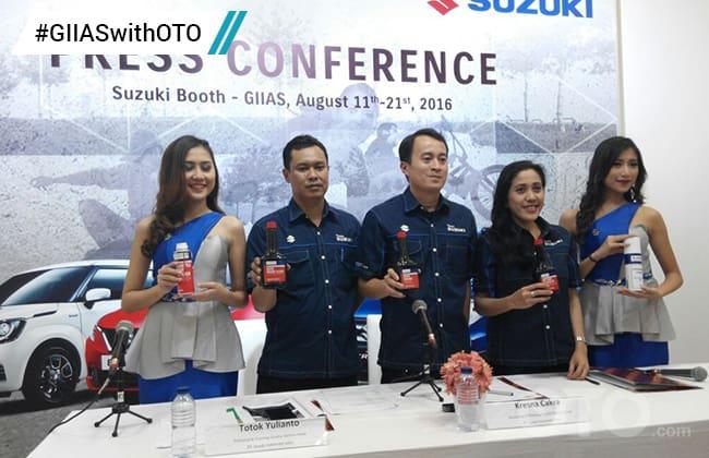 Suzuki Edukasi Siswa SMK Tentang Green Technology di GIIAS