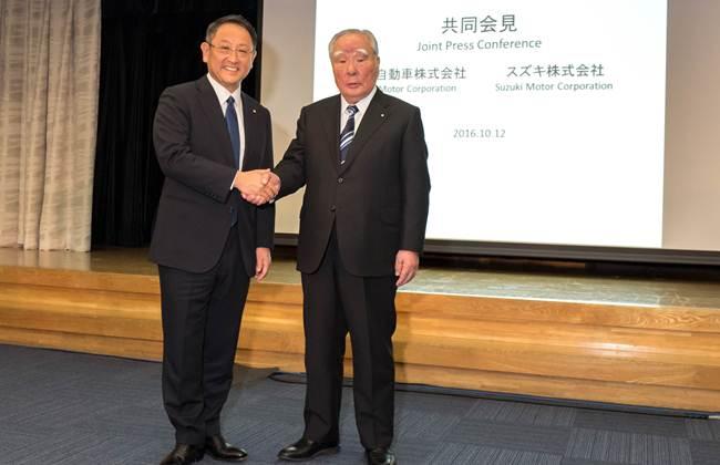 Toyota dan Suzuki Jalin Kerjasama
