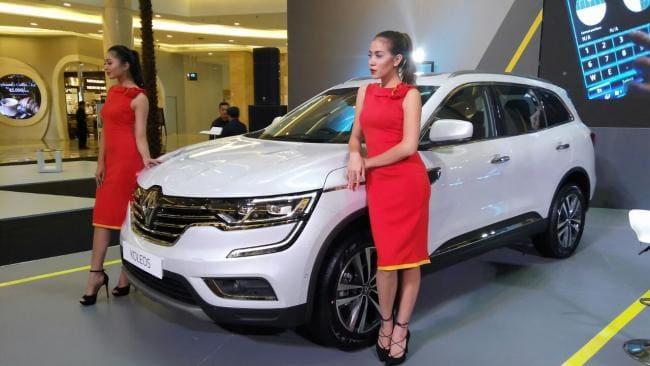 Serius Garap Pasar SUV, Renault Koleos Terbaru Diluncurkan