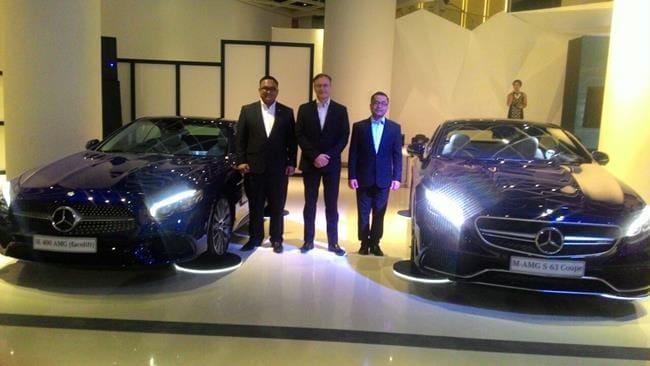 Mercedes-Benz Luncurkan AMG S 63 Coupe dan SL 400 AMG, Ini Spesifikasi dan Harganya