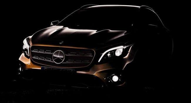 Mercedes-Benz GLA Facelift Siap Tampil di Detroit