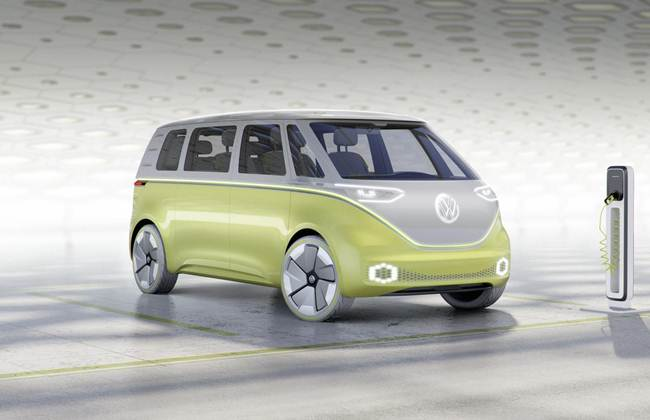 Reinkarnasi VW Kombi Meluncur di Detroit Motor Show