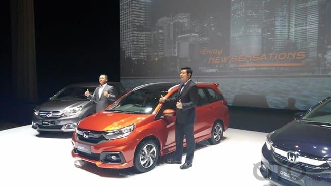 Honda Mobilio Facelift Resmi Diluncurkan