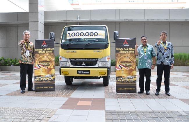 Penjualan Mitsubishi Fuso Colt Diesel Tembus 1 Juta Unit