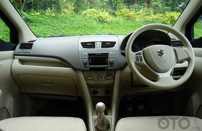 interior ertiga diesel