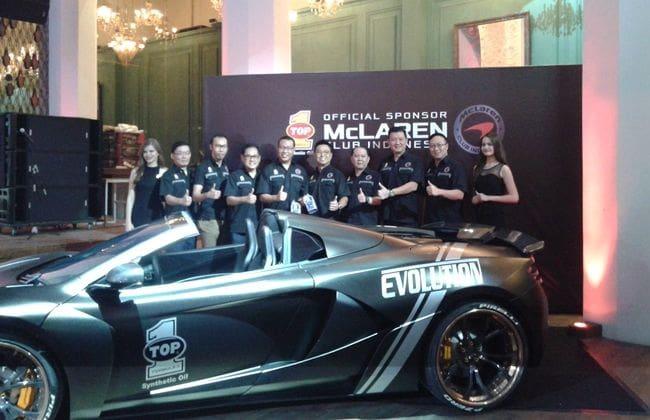 Kolaborasi Ekstrem Top 1 dengan McLaren Club Indonesia