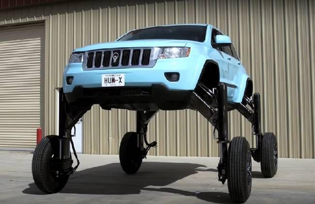 Jeep Grand Cherokee Ini Bisa Mengangkangi Kemacetan