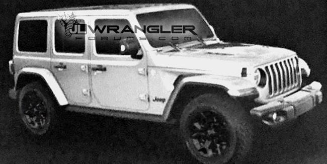 Inilah Bocoran Terbaru Jeep Wrangler 2018