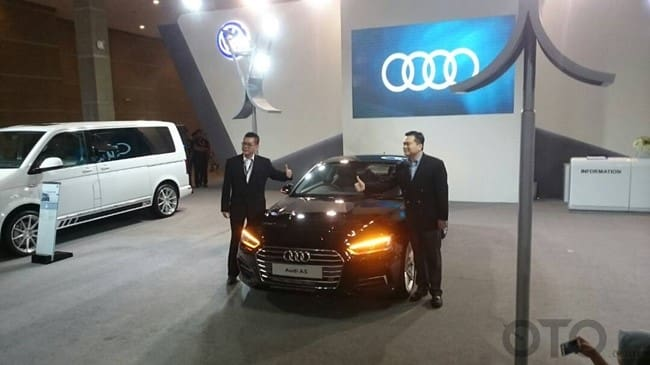 IIMS 2017: All New Audi A5 Coupe Resmi Mengaspal