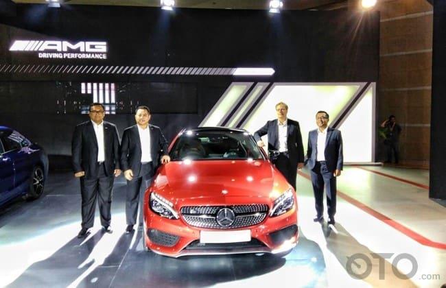 IIMS 2017: Mercedes-Benz Indonesia Perkuat Lini AMG Dengan C43