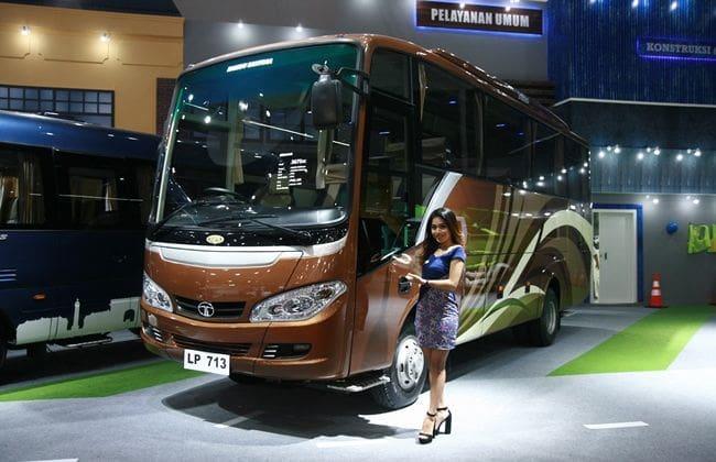 IIMS 2017: Bus Tata Motors Siap Beredar di Jalanan Indonesia