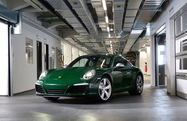 Porsche 911 Capai Produksi Kesejuta