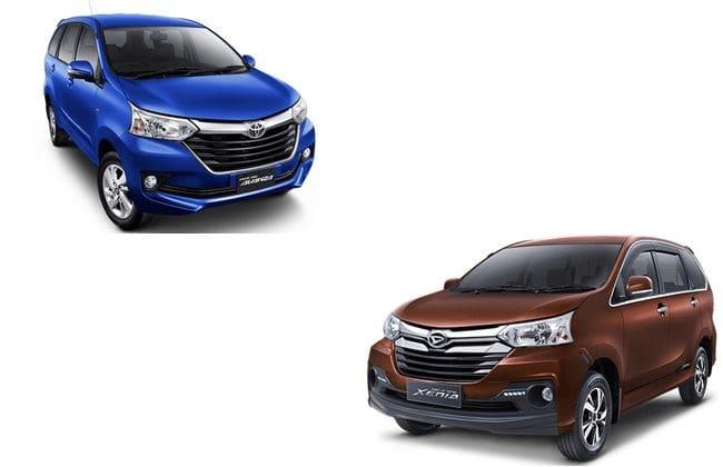 Pilih Toyota Avanza Atau Daihatsu Xenia?
