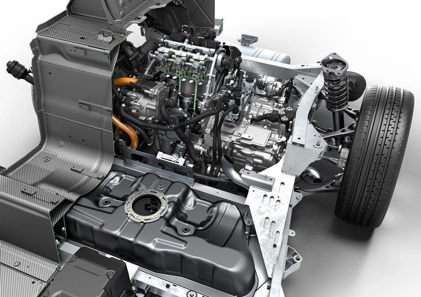 Mesin BMW i8