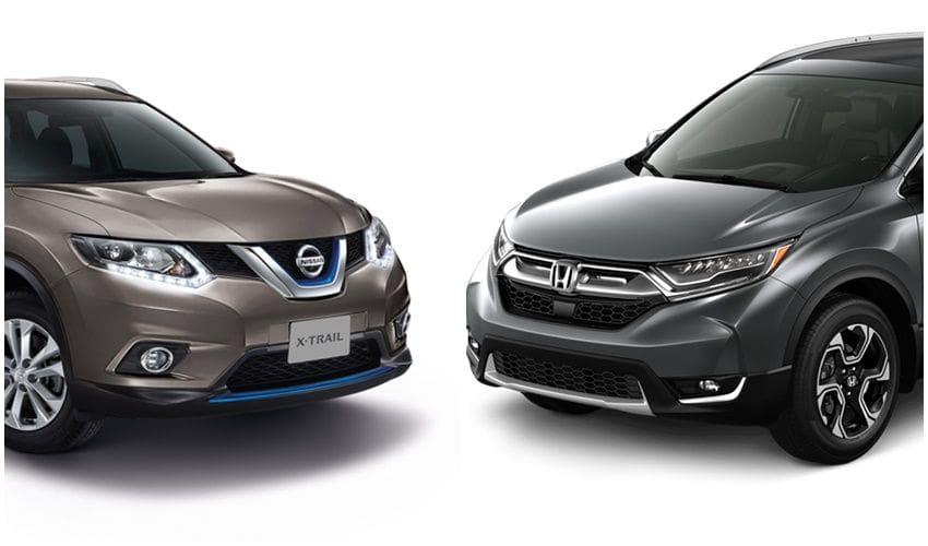 Pilih Mana, Honda CR-V Atau Nissan X-Trail?
