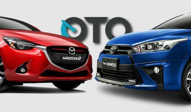 Komparasi: Toyota Yaris S CVT TRD Sportivo VS Mazda2 GT