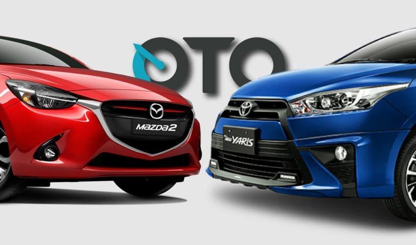Komparasi Hatchback Bekas: Mazda2 AT atau Toyota Yaris TRD CVT?