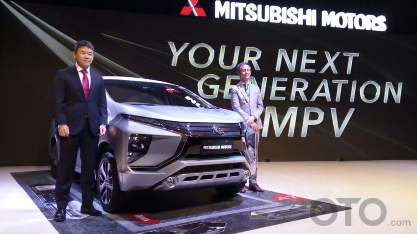 Perbandingan Dimensi Mitsubishi Small MPV VS Rival